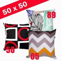 SARUNG BANTAL SOFA 50 X 50