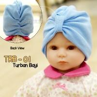 Topi Turban Anak Bayi Perempuan 0-9 Bulan TRB-01 kupluk Bayi