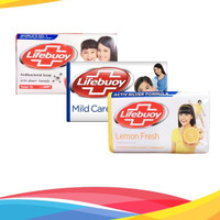 LIFEBUOY Anti Bacterial Soap / LIFEBUOY Sabun Batang 75gr