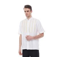Salt n Pepper Baju Muslim Koko Lengan Pendek 017 White - Putih, M