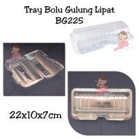 Tray Bolu Gulung BG225 Lipat/Mika Bolu Gulung/Mika Kue Lapis Lipat