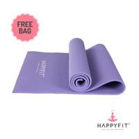 Happyfit Matras Yoga PVC Mat 8MM Gratis Tas Free Bag