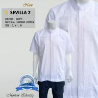 Baju Koko Putih, Baju Koko Lengan Pendek, Baju Koko - Sevilla