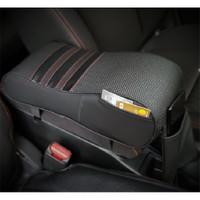Car Arm Rest Carbon | Bantal Mobil Sandaran Siku Tangan Memory Foam