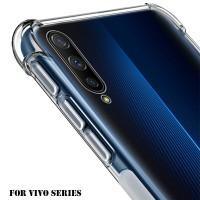 Vivo V5 V7 V9 V11/i/V15 V17/Pro/Plus Case Anti Crack Fiber Casing Hard