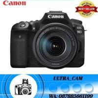 Canon EOS 90D kit 18-135 mm NANO USM kamera DSLR (DISTRIBUTOR)