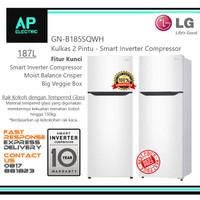 LG GN-B185SQWH Kulkas 2 Pintu Inverter Putih GNB185SQWH New Model