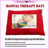 Bantal Anti Peyang /Bantal Terapi Bayi isi kulit kacang hijau
