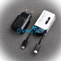 CHARGER SAMSUNG NOTE 10+ A70 A80 TYPE-C SUPER FAST CHARGING 25W PD 3.0