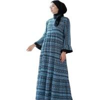 Home Dress Wanita Daster Muslimah Etnik Cantik