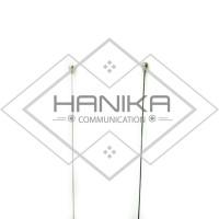 D Antenna PO-150 Antena Rig Mobil VHF HT Larsen Walkie Talkie Hitam