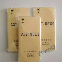 Oppo A37 Neo 9 Anti Crack Silikon Jelly Soft Case Bening Neo9