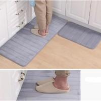 Memory foam mat set/Keset Kaki Rumah Dapur Pintu Kamar Anti Selip
