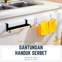GANTUNGAN LAP SERBET CELEMEK HANDUK DAPUR - A677