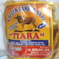 KRECEK RAMBAK KULIT SAPI TIARA 250 gram