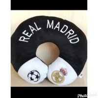 Bantal Leher Travel Mobil Real Madrid