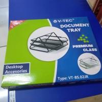 V-Tec Document Tray / Bak Surat 2 Susun