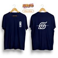 Kaos T-shirt ANIME NARUTO ITACHI SASUKE UCHIHA SCRATCH LOGO KONOHA