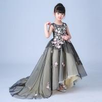 gaun baju Anak Gadis Mulia Malam Pesta Ulang tahun