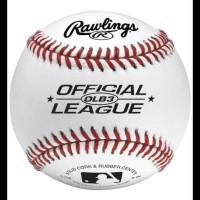 PROMO BEST PRODUK RAWLINGS OFFICIAL LEAGUE LOGO BASEBALL BOLA BALL