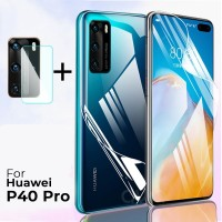 HUAWEI P40 PRO Hydrogel Front and Back Cover Screen Protector Premium