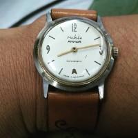 jam tangan kuno germany jerman anker ruhla