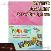 Master Foam Art Warna 4mm 21x30cm 21 x 30 cm /2