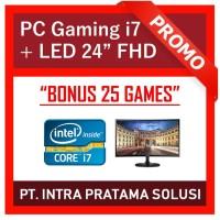 PC Design / Gaming - i7-3770 + RAM 16GB + GTx1050Ti 4GB + LED 22 FHD