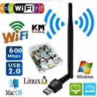 USB Wifi 600 Mbps 802 IIN Adapter Antenna Wireless Usb Wifi 600mbps