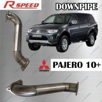Aksesoris Exhaust Muffler knalpot Downpipe Pajero Sport Dakar 09+