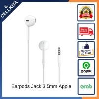 Earpods iPhone Jack 3.5 mm Original Apple Headset Earphone Earpod