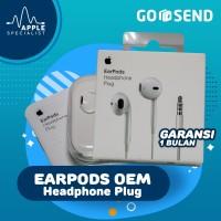HEADSET HANDSFREE EARPODS IPHONE 4 5 5S 6 6+ IPOD ORIGINAL QUALITY