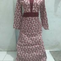 gamis wanita katun murah fashion muslim grosir baju murah tanah abang