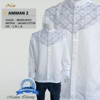 Baju Koko Lengan Panjang, Baju Koko Gaul, Baju Koko Putih Amman