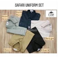 Baju seragam safari /baju seragam supir driver/ baju pemda/ satpam
