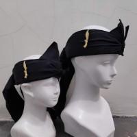 Ikat iket kepala tradisional pin kujang blangkon Sunda IKAT-SET KJ