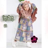 Gamis anak 1 2 tahun baju muslim anak perempuan syari terbaru termurah