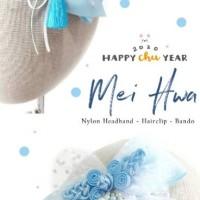 Mei Hwa Imlek - Headband Bandana Bando Jepit Karet Rambut Anak Bayi