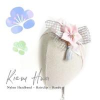 Kiem Hwa Imlek - Headband Bandana Bando Jepit Karet Rambut Anak Bayi
