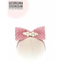 Georgina Cheongsam Imlek-Headband Bandana Bando Jepit Rambut Anak Bayi