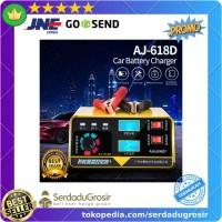 Sterek Cas Aki Charger Aki Mobil Motor 240W 12V / 24V 400AH dengan LCD