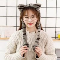 Pikachu Hat Topi Kelinci Nyala Malam Bunny Hat Dance Lucu Bando