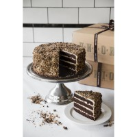 LIMITED: Dark Chocolate & Stout Cake 24cm (Kue Ulang Tahun/Birthday)