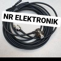 Kabel antena ht dan radio rig 15meter Rg58 + konektor