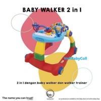 Baby Walker BabyElle 0188 Blue / Red