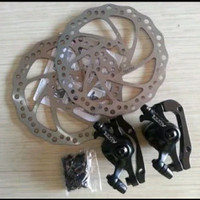 rem cakram sepeda tektro aquila hitam asli Taiwan