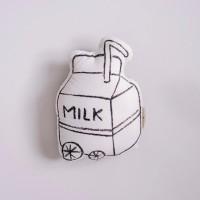 Shaped Pillow - Milk [READY]