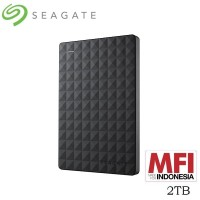 Seagate Expansion Harddisk Eksternal 2TB - Hitam