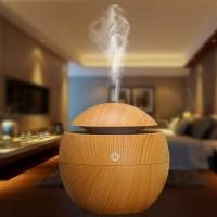 Aroma therapy Air Humidifier Desain Kayu Wood Humidifier Difusser