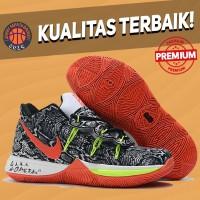 Sepatu Basket Sneakers Nike Kyrie 5 Playoff Mamba Pria Wanita